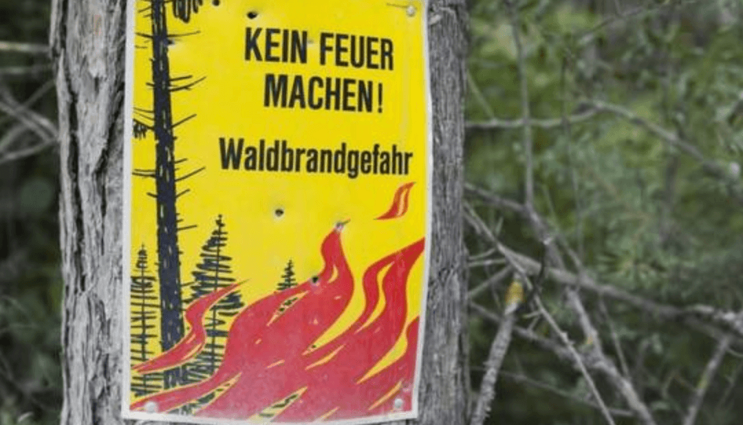 Brandgefahr ist «gross»