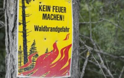 Striktes Feuer- und Feuerwerksverbot