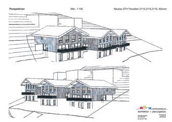 Vorprojekt 3 Doppel-Einfamilienhäuser «Ob dem Dorf»