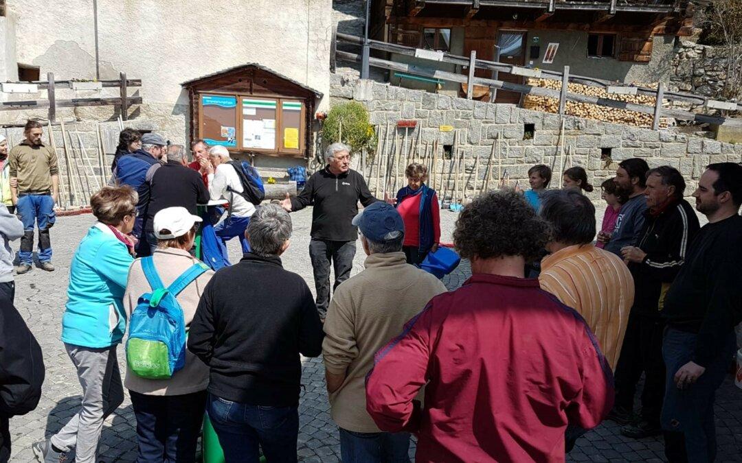 Albiner Dorf-Gmeiwärch: Zämu schaffu – eifach grossartig