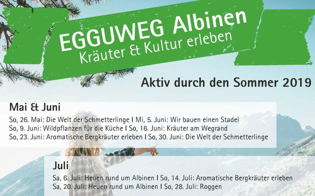 EGGUWEG: Attraktives Sommerprogramm