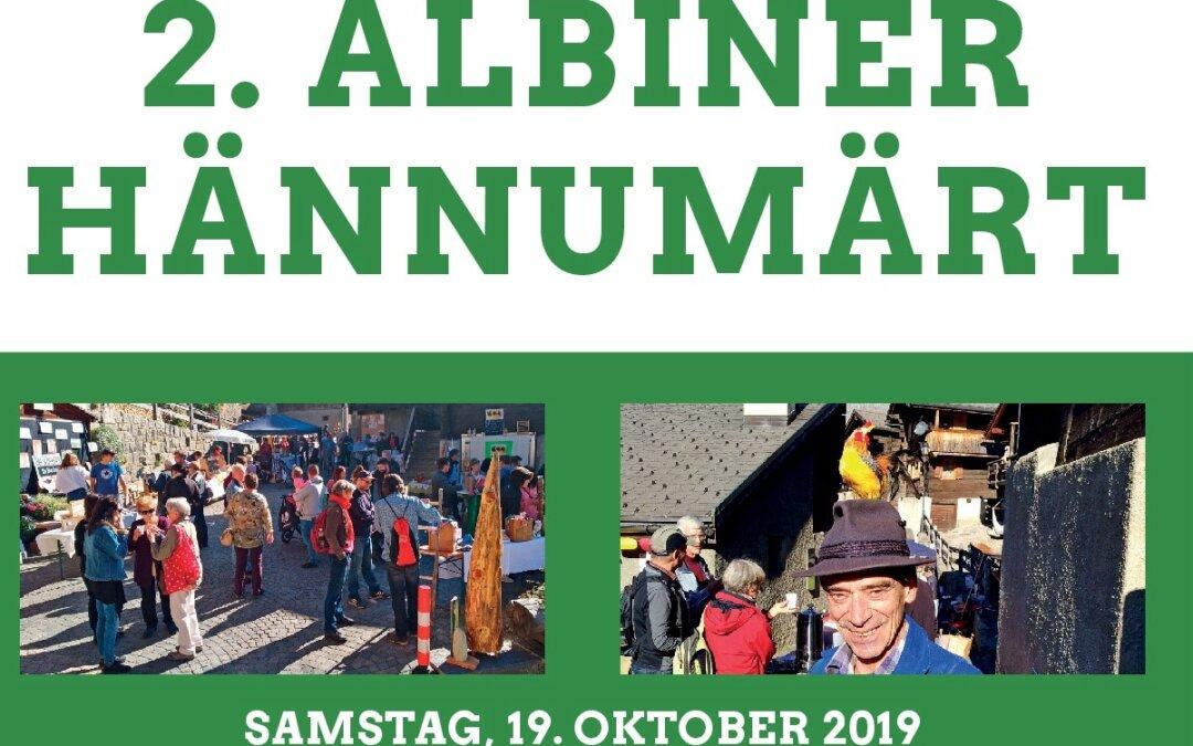 2. Albiner Hännumärt am 19. Oktober wird wieder toll