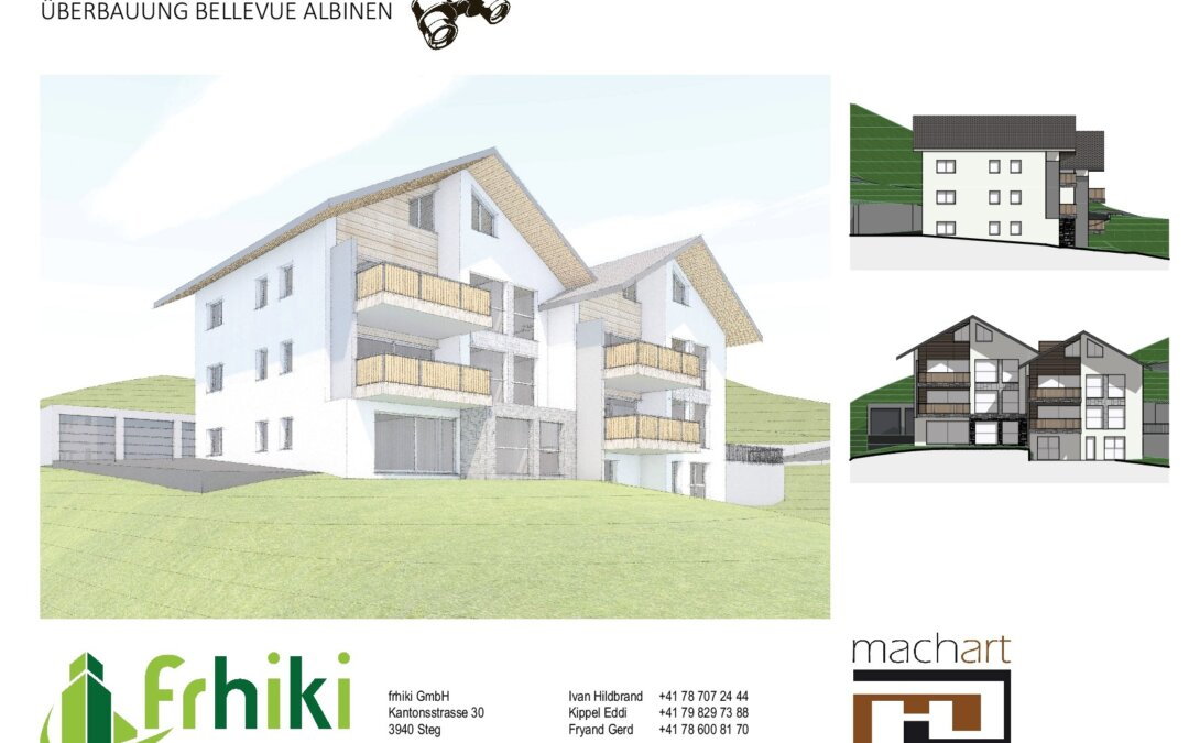"""Mehrfamilienhaus """"Bellevue"""" mit 5 Wohnungen"""