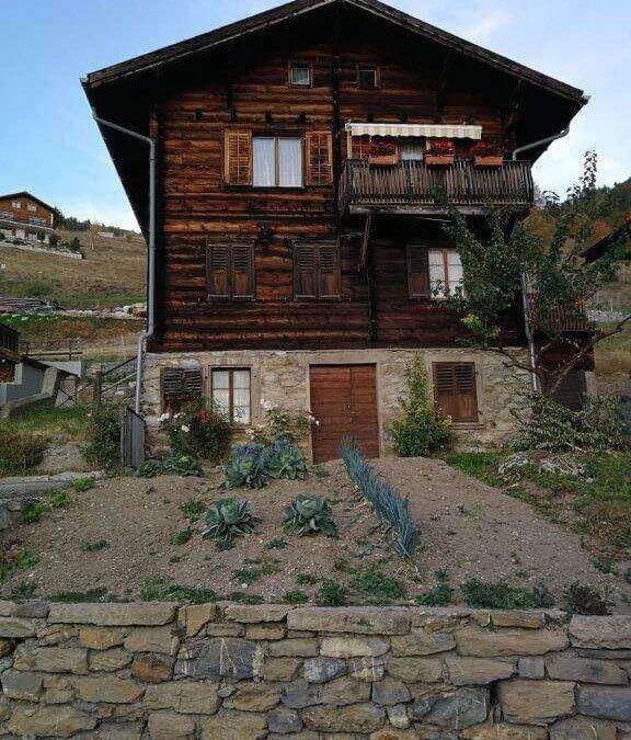 Altbauwohnung in altem Walliser Haus zu verkaufen