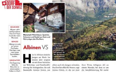 Schönstes Schweizer Dorf 2019: Albinen im Final – jetzt abstimmen!