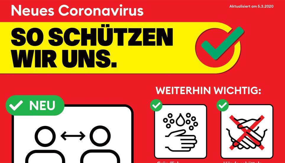 Coronavirus: Die neuen Massnahmen zur ausserordentlichen Lage