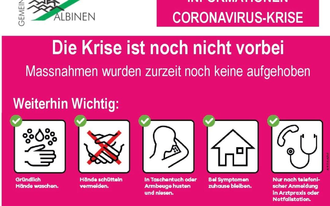 Coronavirus: Neues Informations-Blatt für die Haushalte