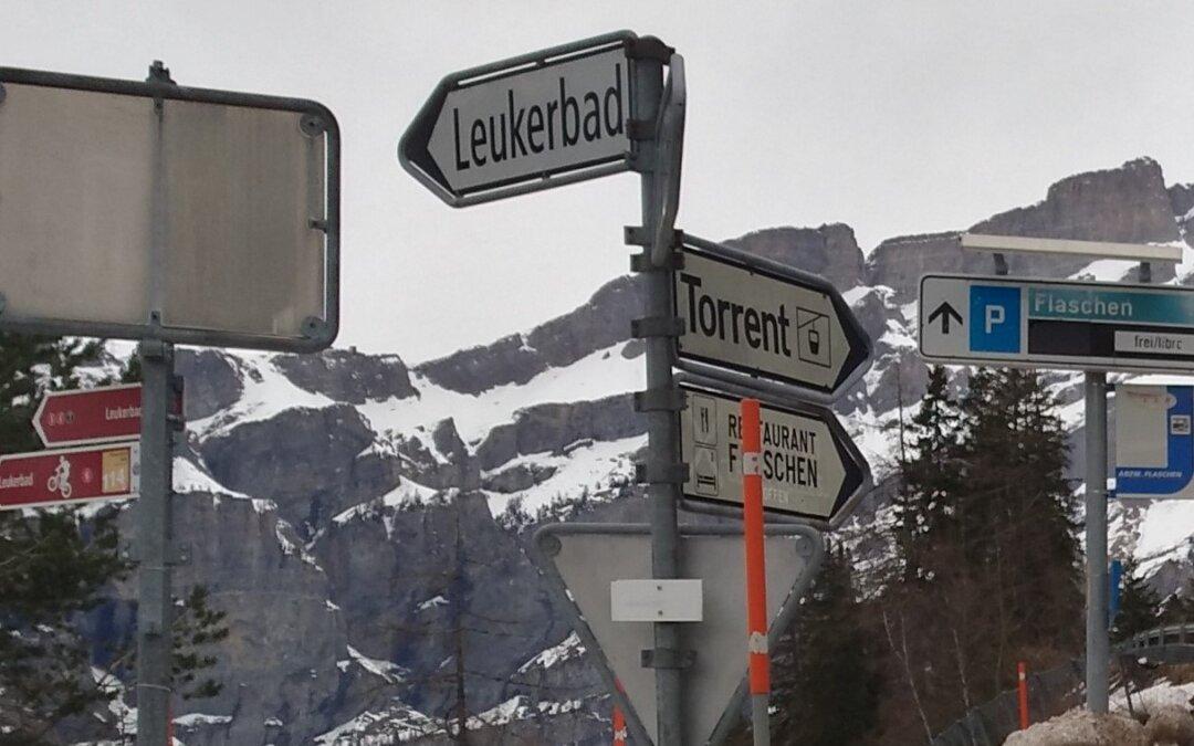 Albinen -Leukerbad: Freie Fahrt ab Freitag, 2. Oktober