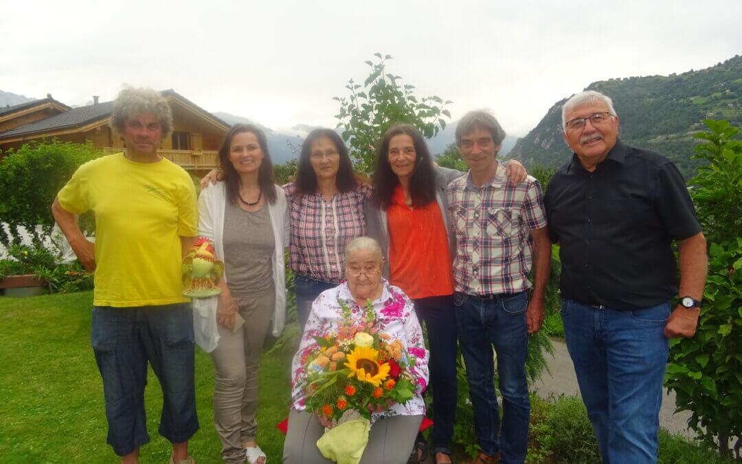 Albiner Dorfälteste Margrith Hermann – Mathieu feierte 99. Geburtstag